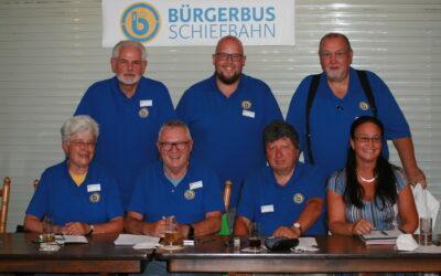 Jahreshauptversammlung Bürgerbus Schiefbahn e.V.